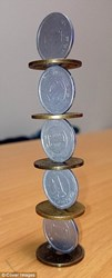 MORE AMAZING COIN STACKS