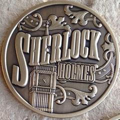 SHERLOCK HOLMES CARD DEALER 'COIN'