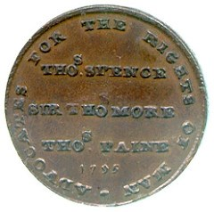 THE PROPAGANDA COINS OF THOMAS SPENCE