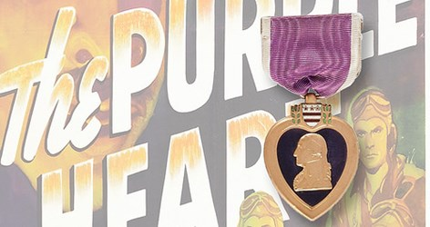 U.S. HOUSE BILL WOULD BAN PURPLE HEART SALES