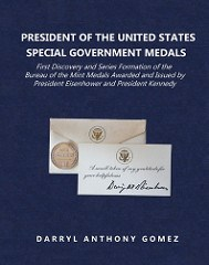 NEW BOOK: POTUS SPECIAL GOVERNMENT MEDALS