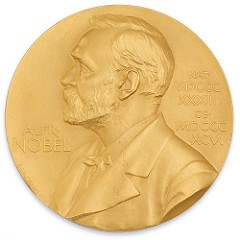 POLIO PIONEER'S GOLD NOBEL PRIZE MEDAL OFFERED