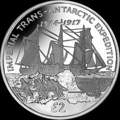 SOUTH GEORGIA SHACKLETON EXPEDITION COIN