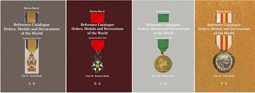 NEW BOOK: WORLD ORDERS, MEDALS AND DECORATIONS