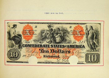 KOLBE & FANNING OFFER THIAN CONFEDERATE CURRENCY ALBUM
