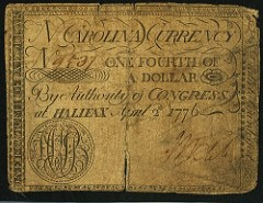 NEWMAN COLLECTION COLONIAL CURRENCY MONOGRAMS