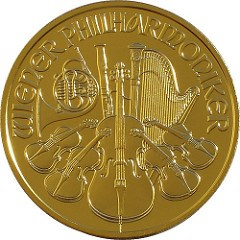 BOOK PLANNED ON VIENNA PHILHARMONIC COIN