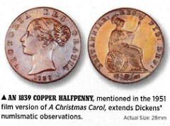 NUMISMATIC REFERENCES IN A CHRISTMAS CAROL