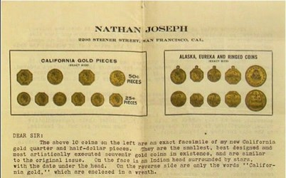 MORE ON THE JOSEPHS AND NUMISMATIC RESEARCH