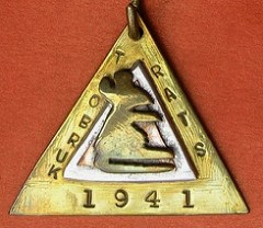 RATS OF TOBRUK MEDAL DIAMOND TYPE