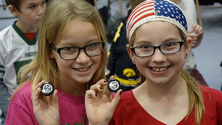 EFFIGY MOUNDS QUARTER LAUNCHED IN IOWA