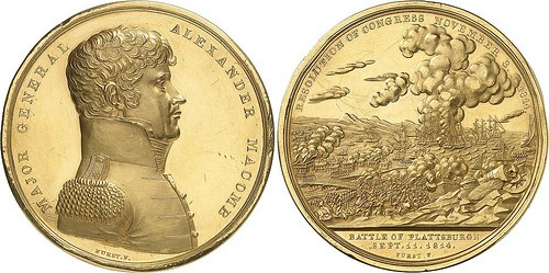 ALEXANDER MACOMB GOLD MEDAL REOFFERED