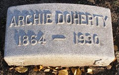 ARCHIBALD ARCHIE L. DOHERTY, (1864-1930)