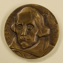 MEDALS OF WILLIAM SHAKESPEARE