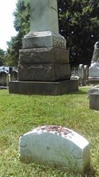 LINCOLN'S CENTS ON HIS KILLER'S HEADSTONE