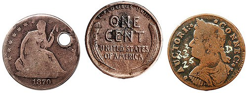 IMPERFECT COINS SOUGHT FOR WHITMAN PROJECT
