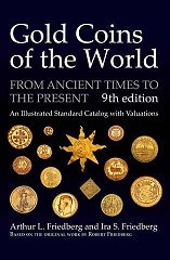 NEW BOOK: GOLD COINS OF THE WORLD, 9TH ED.