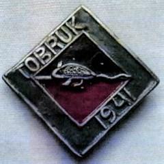 RATS OF TOBRUK MEDAL DIAMOND TYPE