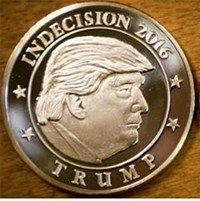 NO OFFICIAL INAUGURAL MEDAL FOR TRUMP
