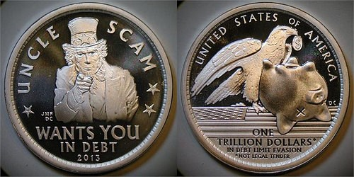 MORE ON THAT TRILLION-DOLLAR COIN