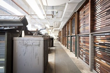THE OLDEST U.S. LETTERPRESS TYPE FOUNDRY