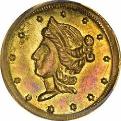 PRIVATE GOLD COINS OF CALIFORNIA