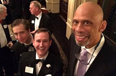 MORE ON NEW CCAC MEMBER KAREEM ABDUL-JABBAR