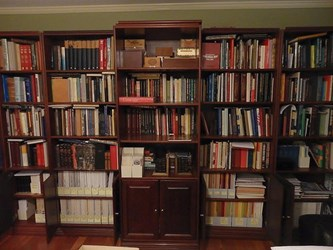 MORE ON THE THREAT OF COLLAPSING BOOKSHELVES