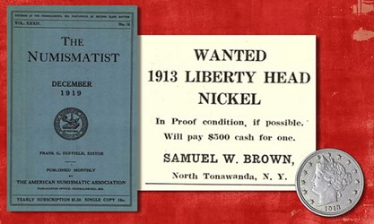 VIDEO: THE 1913 LIBERTY HEAD NICKEL