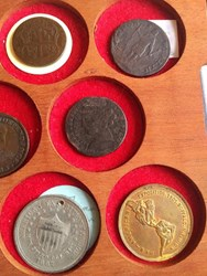 OXFORD SOCIETY DISPLAYS AMERICAN COINS