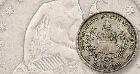1957 RED BOOK MANGLED CONFEDERATE HALVES