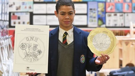 MORE ON THE NEW ONE POUND COIN