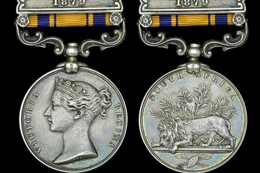 SOUTH AFRICA ZULU MEDAL BRINGS RECORD PRICE