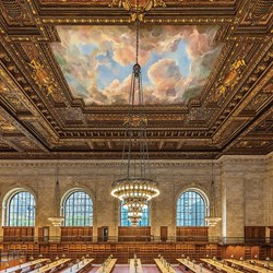 NEW YORK PUBLIC LIBRARY READING ROOM NOW READY