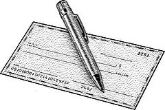 SO WHY DO PEOPLE WRITE CHECKS FOR GROCERIES?