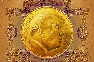 PETITION SEEKS TRUMP U.S. GOLD COIN