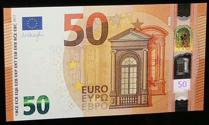 NEW €50 EUROPA SERIES BANKNOTE ISSUED
