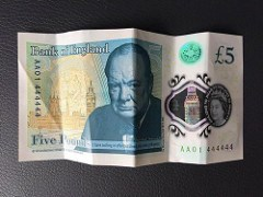 DEMAND CONTINUES FOR SPECIAL FIVE POUND NOTES