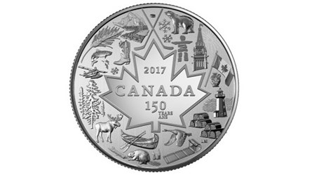 ARTIST LAURIE MCGAW'S CANADA 150 COIN DESIGN