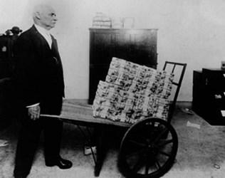 THE U.S. TREASURY DEPARTMENT MONEY LAUNDRY