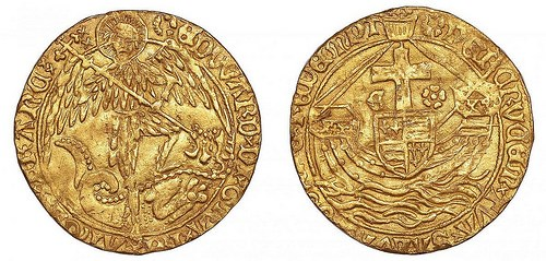 DETECTORIST FINDS RARE GOLD ANGEL OF EDWARD V