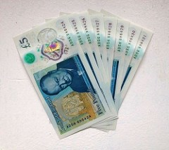 SPECIAL FIVE POUND NOTES DEMAND EXAMINED