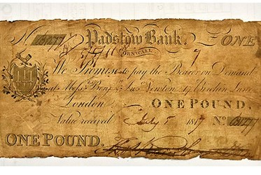 STOLEN BANKNOTE RETURNED 30 YEARS LATER