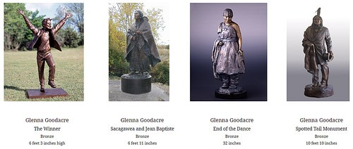 GLENNA GOODACRE SCULPTURAL WORKS FOR SALE