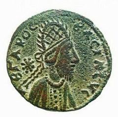 DOES COIN SHOW TRUE PORTRAIT OF JESUS?