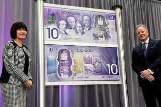 CANADA COMMEMORATIVE $10 NOTE UNVEILED