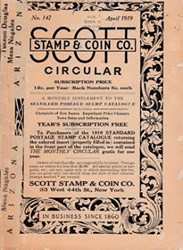 SCOTT STAMP & COIN COMPANY, LTD.