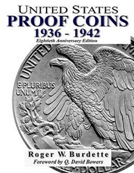 NEW BOOK: UNITED STATES PROOF COINS 1936-1942