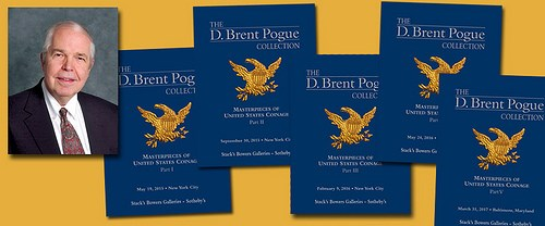 BRENT POGUE BOUGHT THE BOOKS BEFORE THE COINS