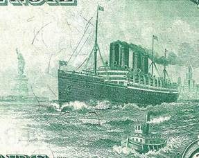 1914 $20 NOTE VEHICLE VIGNETTES IDENTIFIED